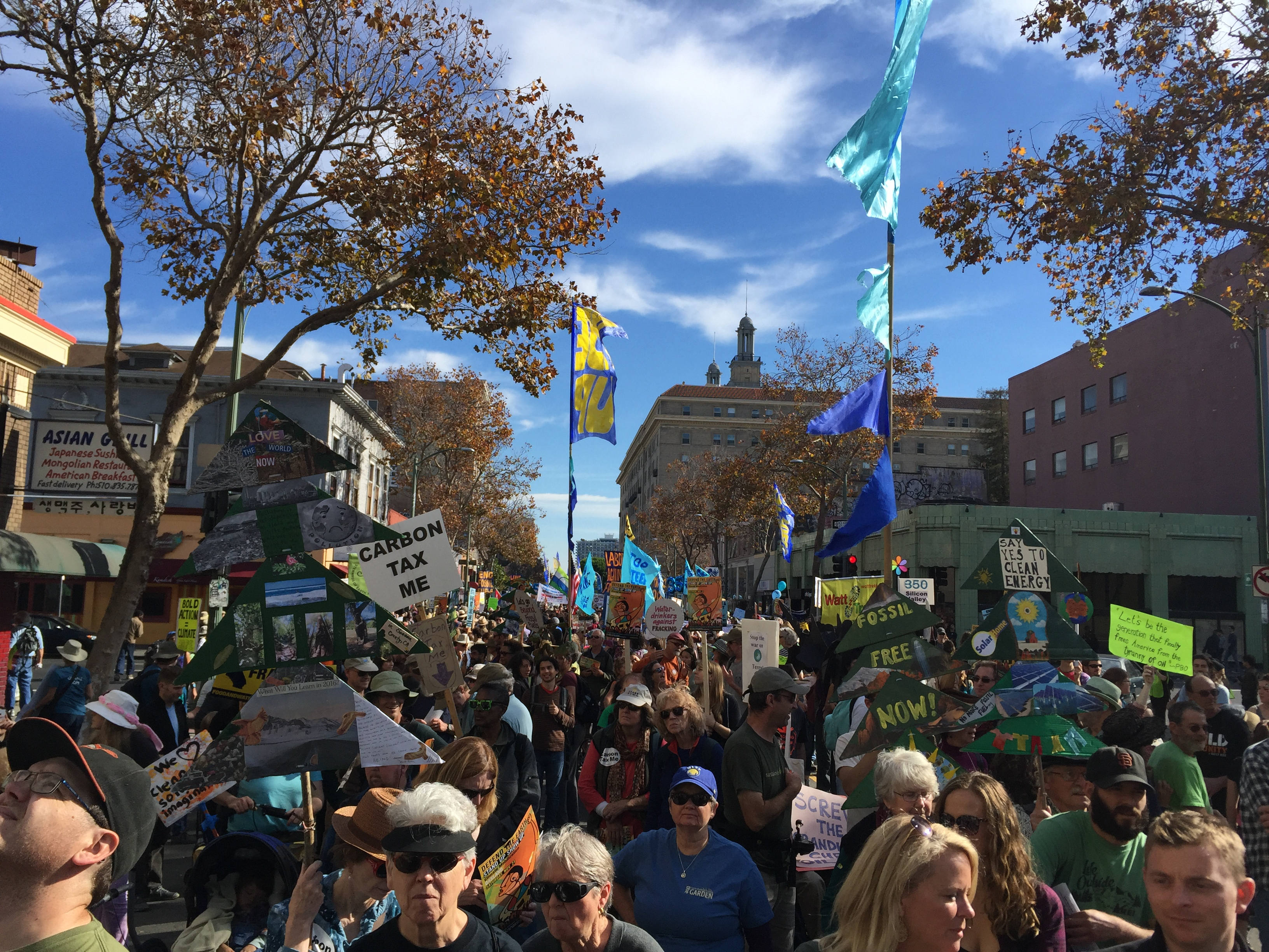 Climate Justice Oakland March